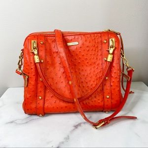 REBECCA MINKOFF Cupid Satchel tote bag orange